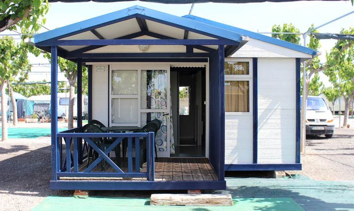Alquiler de bungalow en camping castellon costa de azahar Moncofar